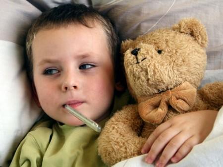 bambini mal di gola antibiotici