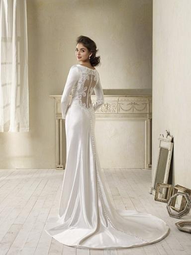 La replica dell'abito da sposa di Bella in Breaking Dawn Part 1