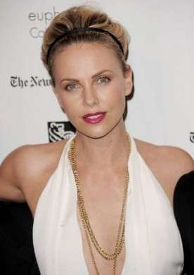 Charlize Theron a New York