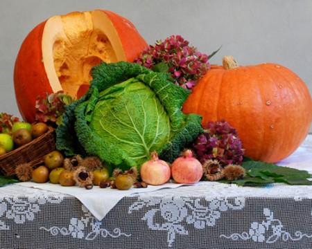 La dieta autunnale per dimagrire con i colori dei cibi tipici di questo periodo