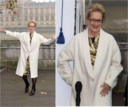 Meryl Streep in Stella McCartney