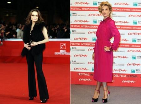 Micaela Ramazzotti e Francesca Neri in Gucci