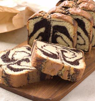 plumcake bicolore ricetta