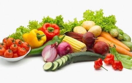 vegetarian vegetables fruits