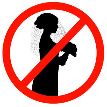 No matrimonio per le donne
