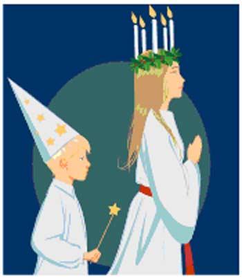 Santa Lucia festa bambini