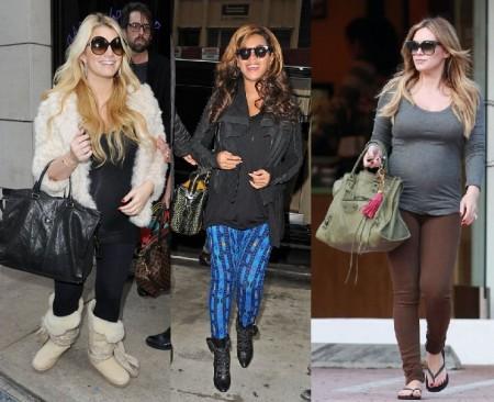 I look premaman di Jessica Simpson, Beyonce e Hilary Duff, chi preferite?