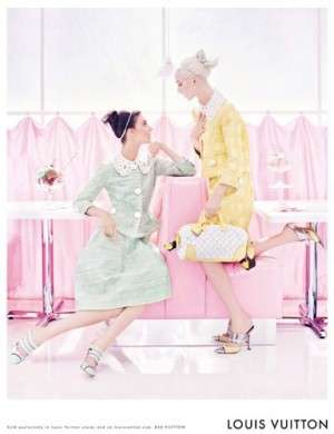 Louis Vuitton PE 2012 look