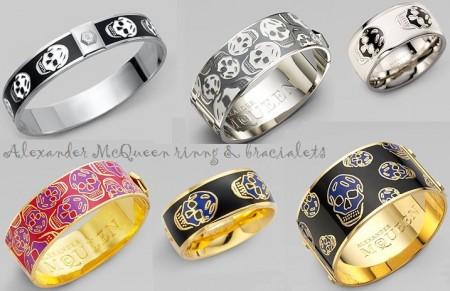 mcqueen bracciali anelli natale 2011