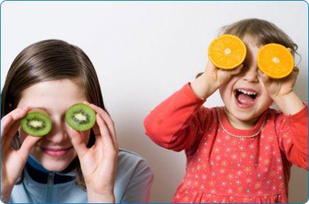 obesità infantile frutta verdura dieta