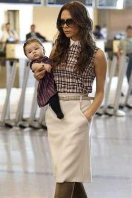 Victoria e David Beckham Harper Seven