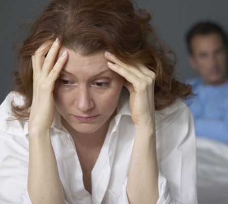 Donne preoccupazioni salute