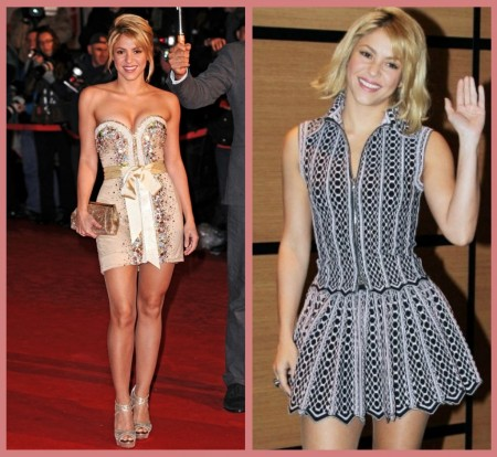 Shakira Cannes 2012