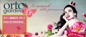 Ortogiardino 2012, a Pordenone il Salone della floricultura e del giardinaggio