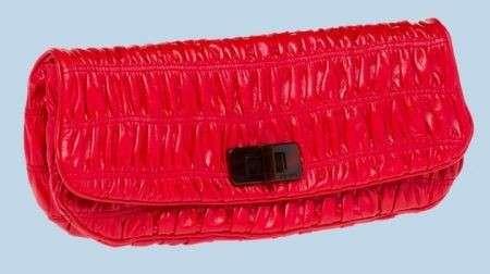 Prada Borse Vernice Rossa