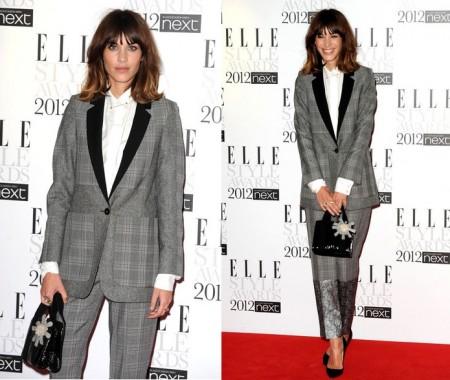 2012 ELLE Style Awards alexa