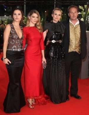 I look di Lea Seydoux e Diane Kruger al Berlino Film Festival