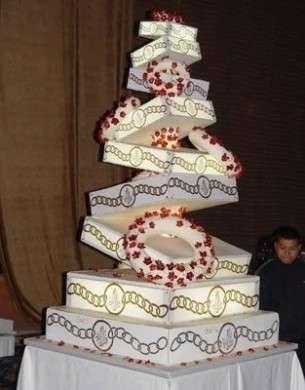 Torte nuziali: le foto delle più particolari