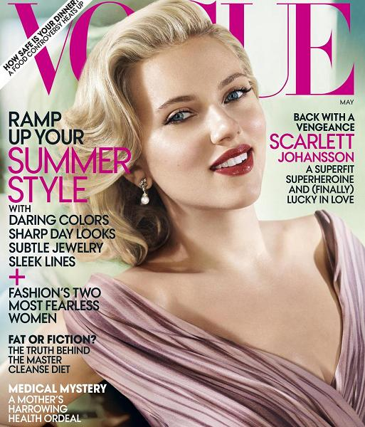 Scarlett Johansson Vogue