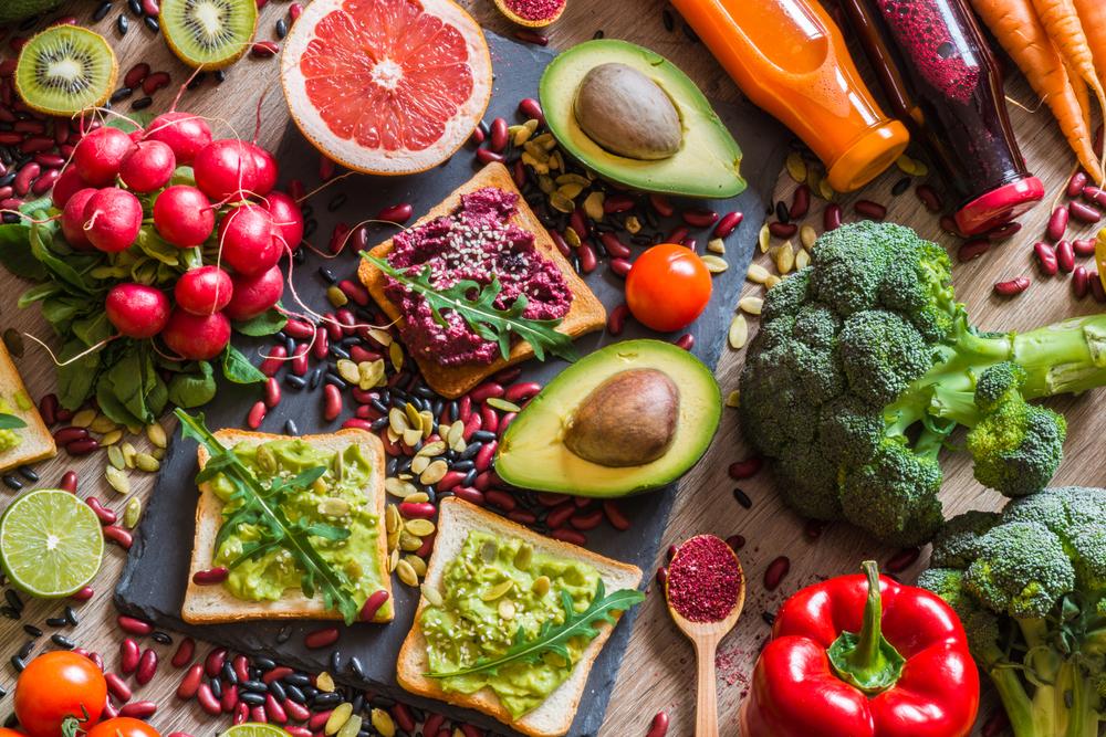 dieta vegetariana e vegana