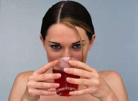 Succo di mirtilli