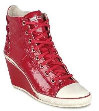 Scarpe Just Cavalli, le originali sneakers con zeppa in tanti colori [FOTO]
