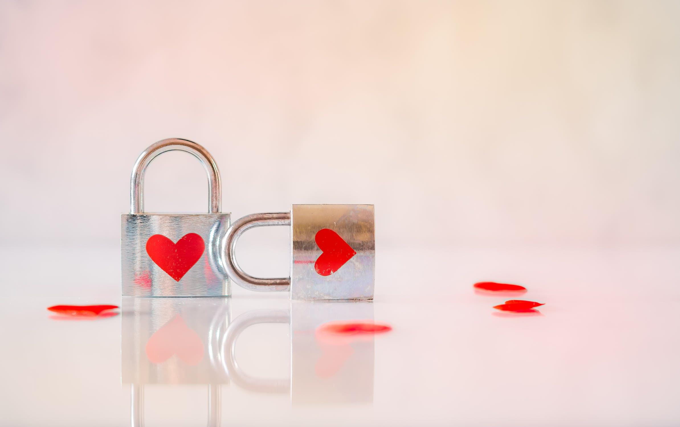 lucchetti con cuore