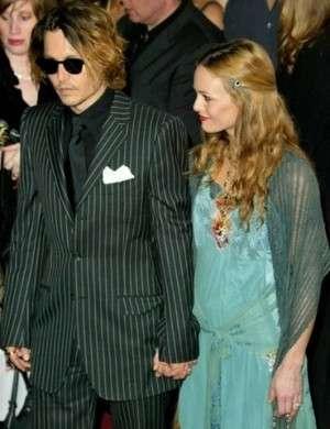 Johnny Depp e Vanessa Paradis divorzio