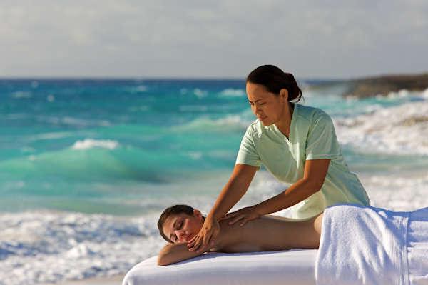 Massaggi in spiaggia ok