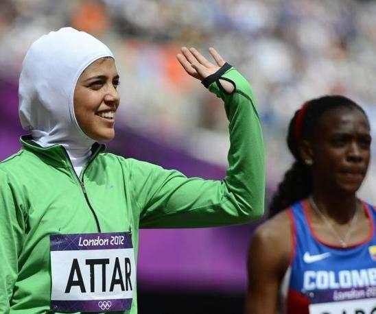 Olimpiadi di Londra 2012: trionfo senza vittoria di Sarah Attar, prima saudita ai Giochi [FOTO]