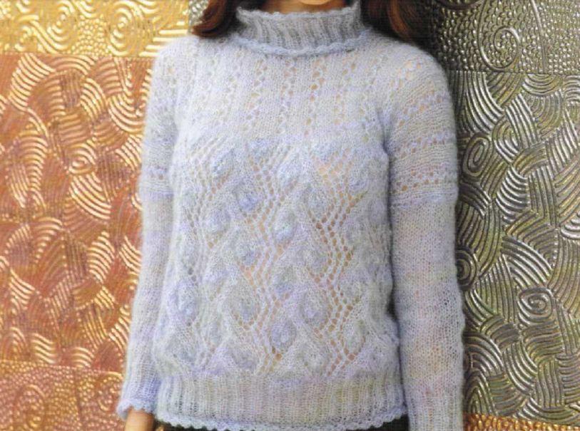 Crea un morbido pull con i lavori a maglia
