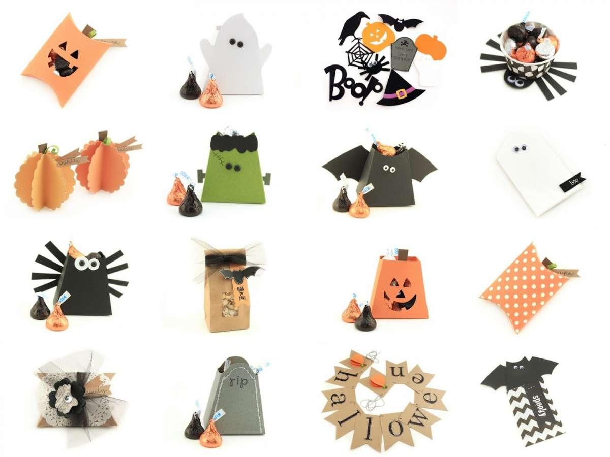Halloween lavoretti di carta per bambini
