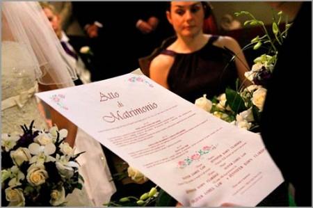 documenti matrimonio civile atto nozze
