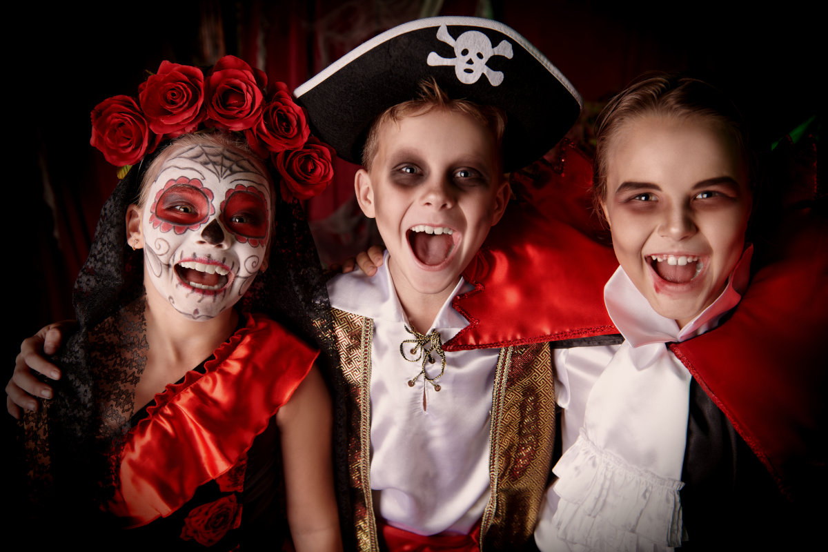 trucco halloween bambini