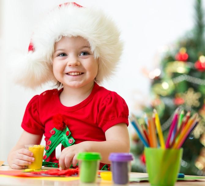 Lavoretti di Natale per i bambini piccoli
