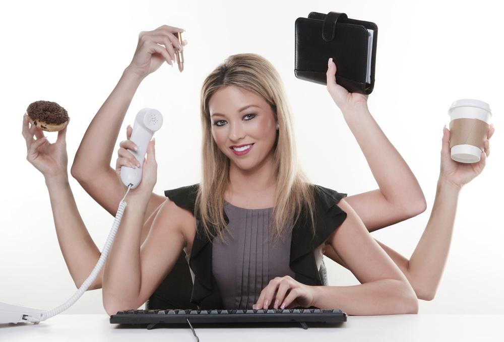 Il multitasking è un'arte al femminile