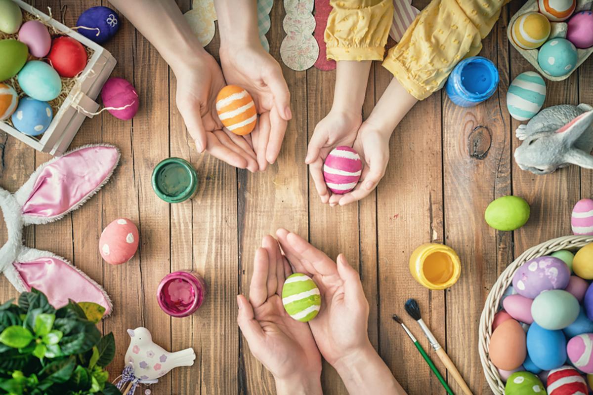 Lavoretti di Pasqua per la scuola dell'infanzia
