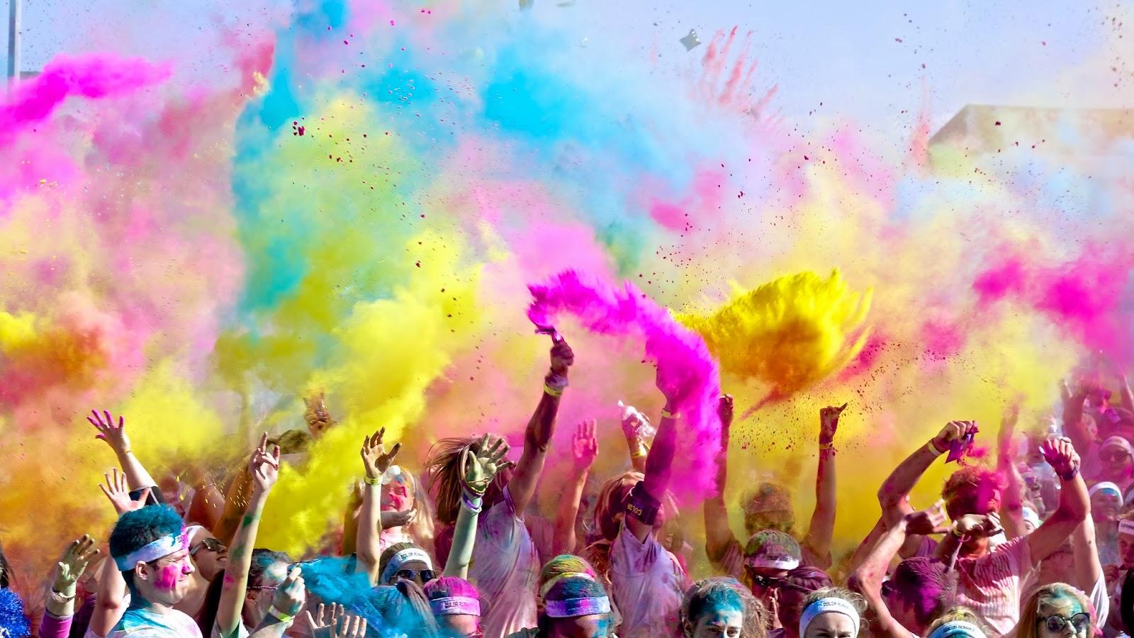 color run polvere