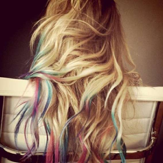 I gessetti per i capelli