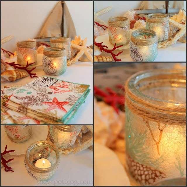Come decorare il vetro nel decoupage [FOTO]