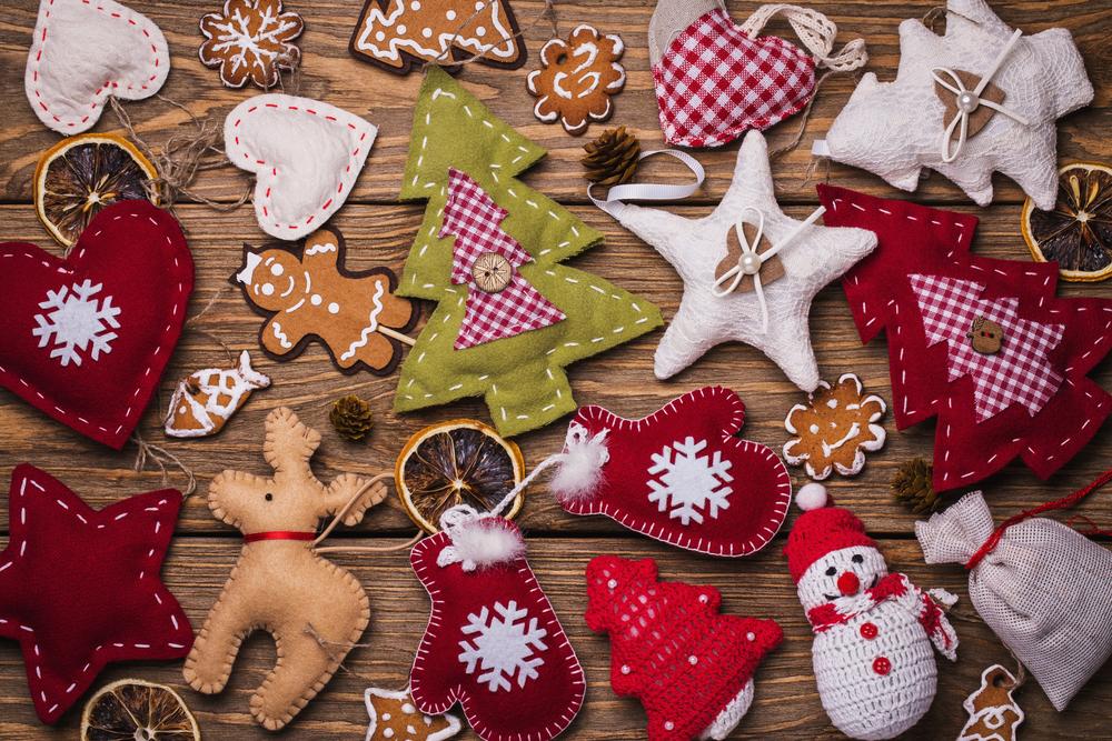Lavoretti di Natale in pannolenci