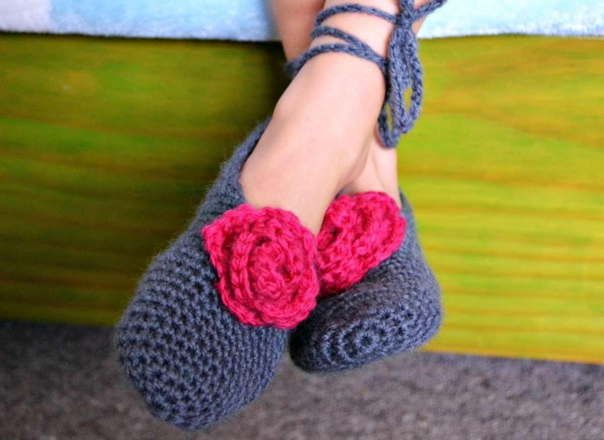 Pantofole fai da te con l'uncinetto: tante idee originali [FOTO]
