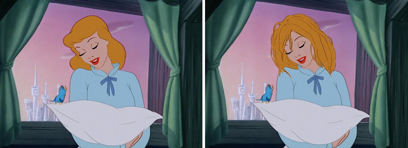 Le Principesse Disney di Loryn Brantz: come sarebbero se avessero capelli reali