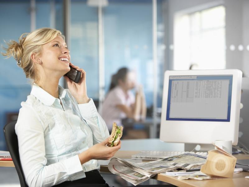 Mangiare bene in ufficio