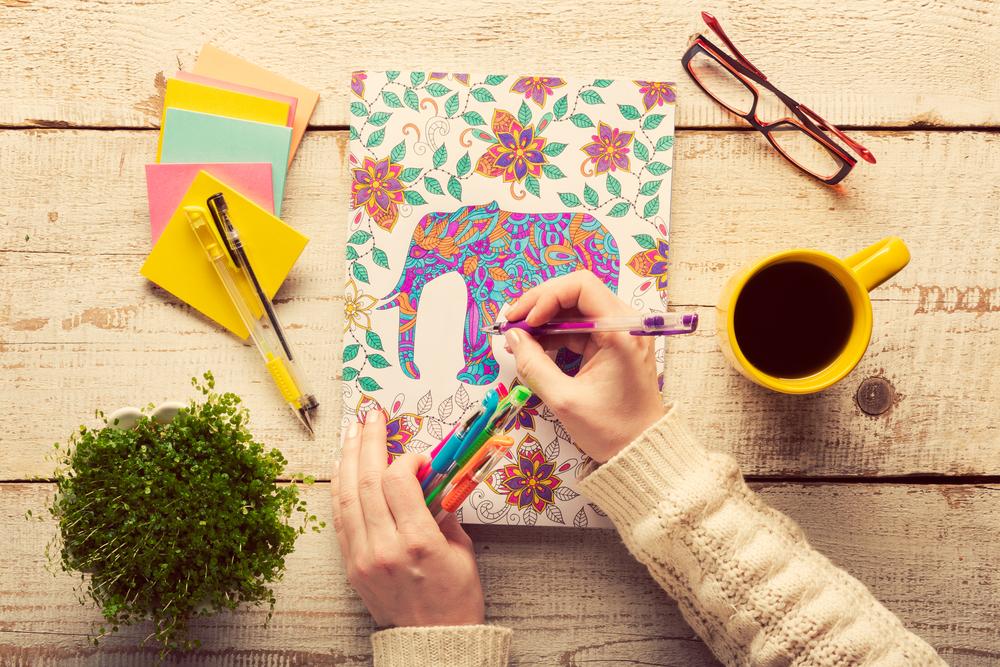Disegni da colorare per adulti