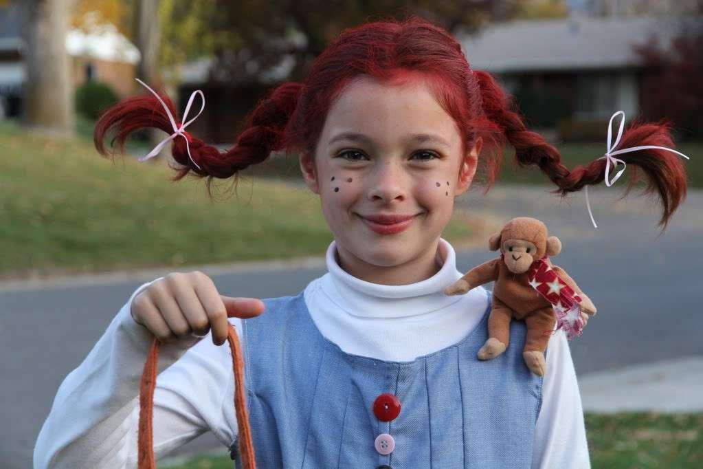 Costume di Carnevale fai da te da Pippi Calzelunghe: idee per bambine [FOTO]