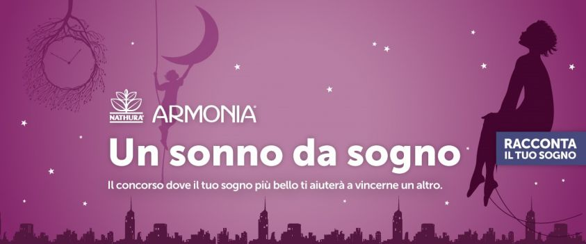 Un sonno da sogno: il concorso di Armonia© che premia i tuoi sogni