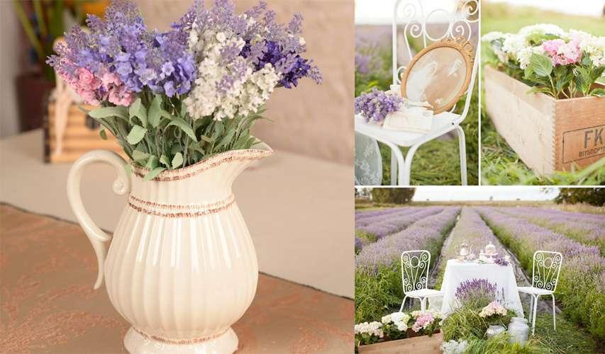 Matrimonio in stile provenzale: consigli per le decorazioni [FOTO]