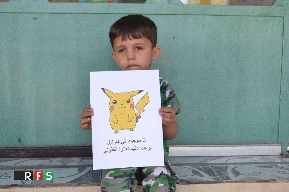 Siria e Pokemon Go, l'appello dei bambini per salvarli