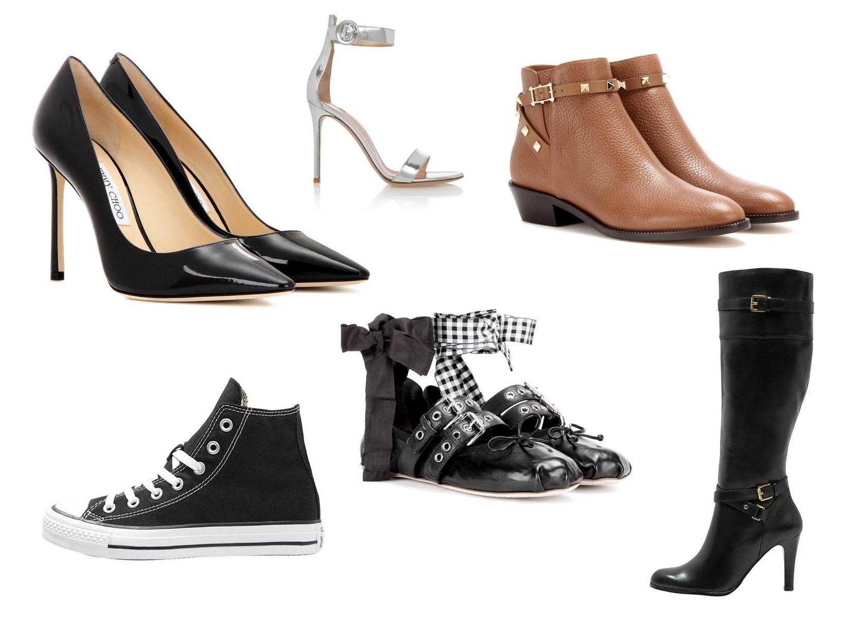 10 modelli di scarpe che ogni donna dovrebbe avere
